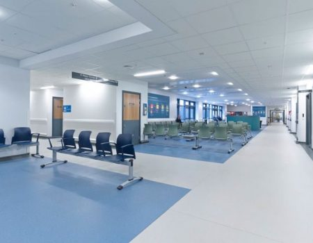 Altro Flooring for Healthcare in Leicester
