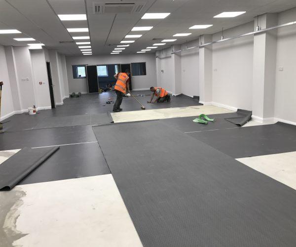 Factory Flooring - Rubber
