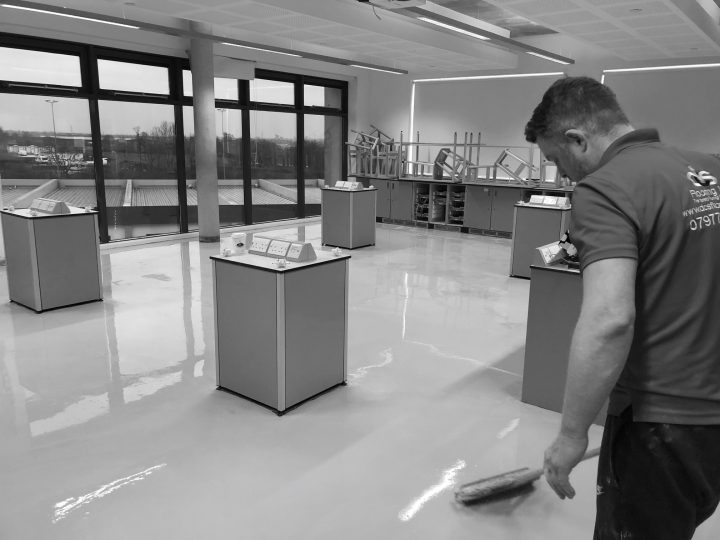 Polysafe Flooring at Brockington College