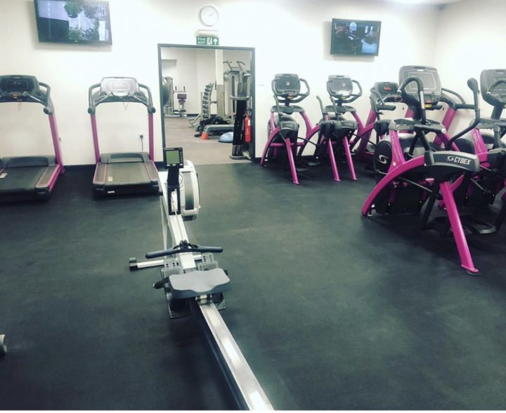 Rubber Flooring at Progress Works Gym, Leicester.