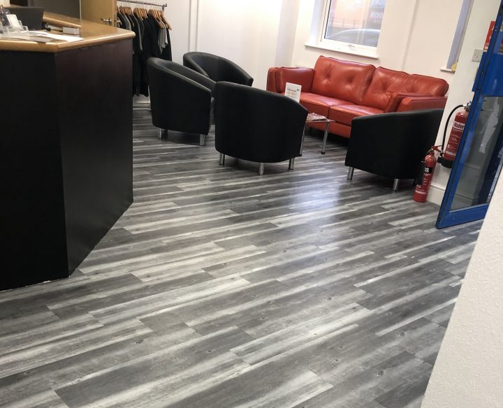 Polyflor Expona Flooring at Premier Gym.